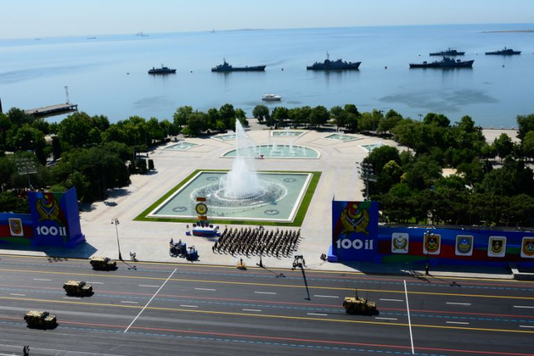 The parade demonstrated Azerbaijan's growing military capabilities. Photo: Azertaj