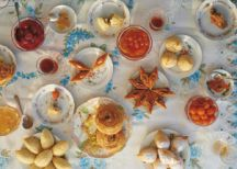 Azerbaijani sweets. Photo: courtesy of Olia Hercules