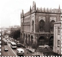National Academy of Sciences on Istiqlaliyyat Street then
