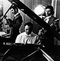 1973, Vagif Abutalibov, Rafiq Babayev, Rovshan Rzayev - rehearsing in Baku