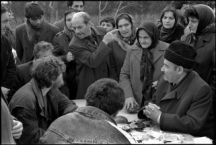 A Russian journalist visiting Baku in the aftermath of Black January (20 January 1990), from the series