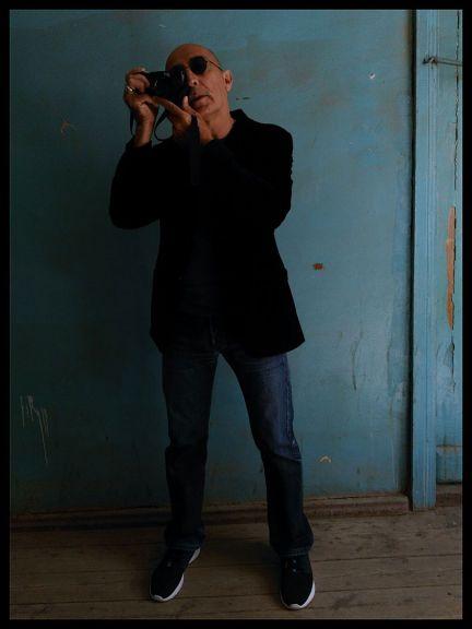 Portrait of Sanan Aleskerov. Photo: Eva Abilova