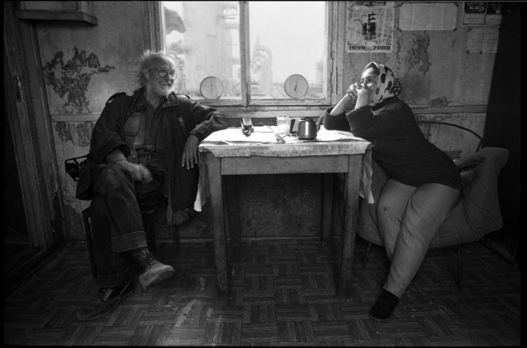 "Josef Koudelka in Baku, from the series ""Field of the Master."" Photo: Sanan Aleskerov"