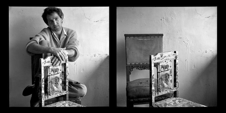 Artist Zakir Huseynov. Diptych. Baku, 1998. Photo: Sanan Aleskerov