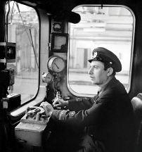 A metro driver. March 1969. Photo: Azertaj