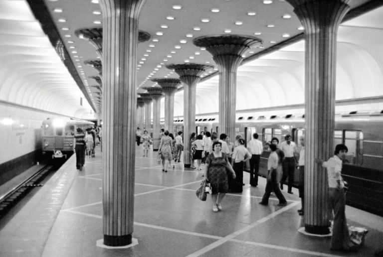 Narimanov Station. 13 September 1977. Photo: Azertaj