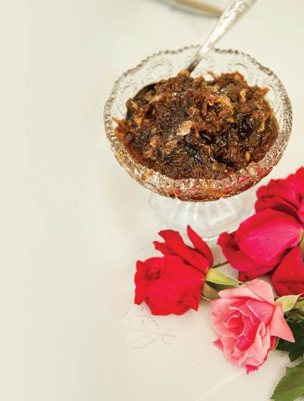 Rose jam from Zaqatala, in northwestern Azerbaijan