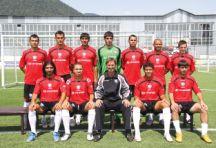 Adams with the 2010-2011 Qabala FC first team