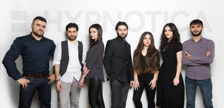 The HYPNOTICA team of creatives. Photo: courtesy of Art + Image