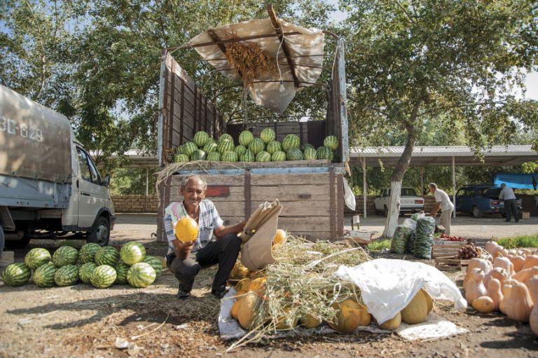Watermelon seller, Sabirabad